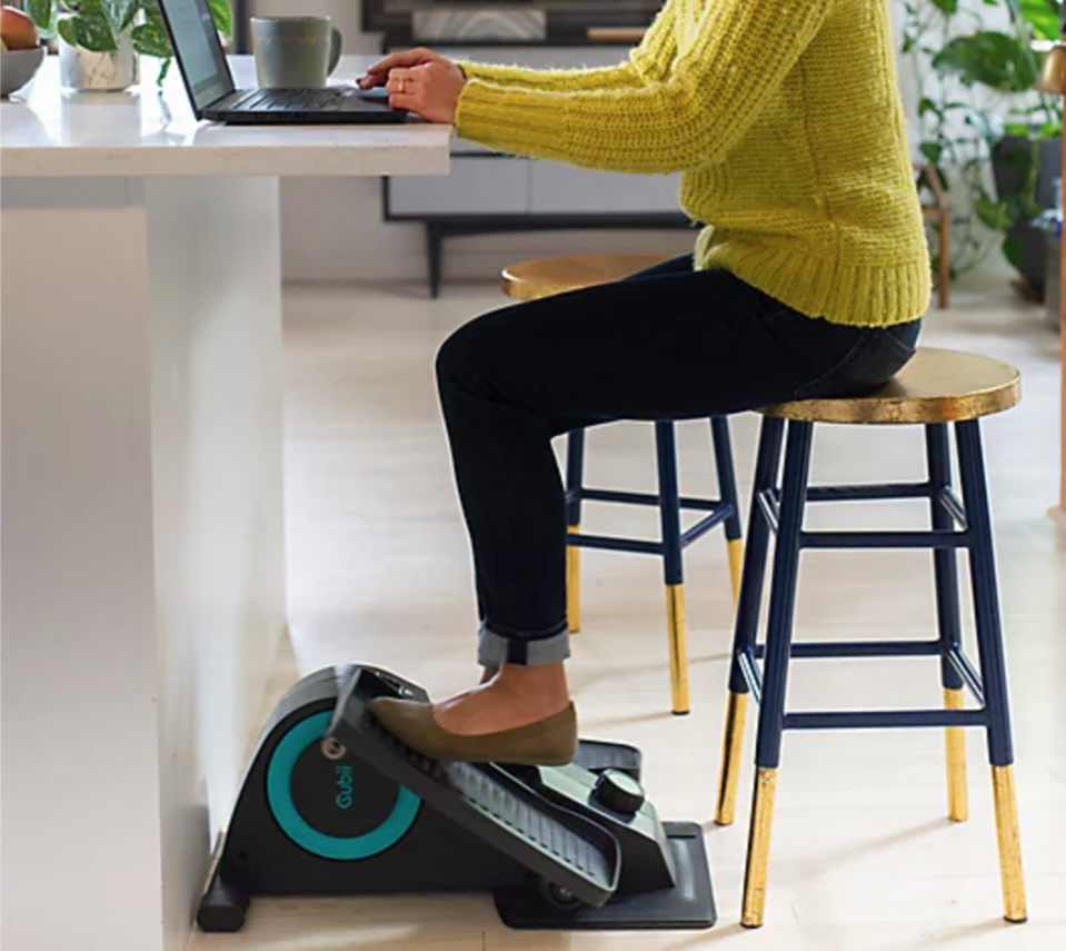The Cubii Jr. is the king of multitasking. (Photo: QVC)