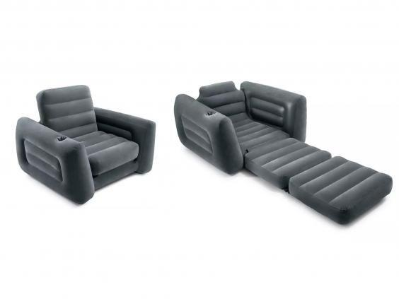 Sit back in style with this inflatable chair (Argos)