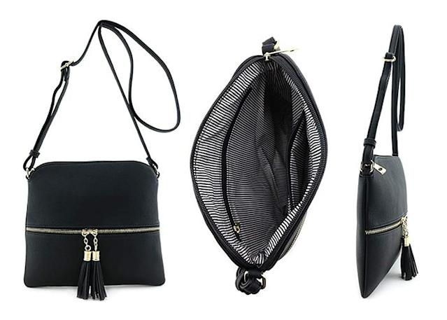Despite its compact size, this lightweight bag can handle all of your essentials. (Photo: Amazon)