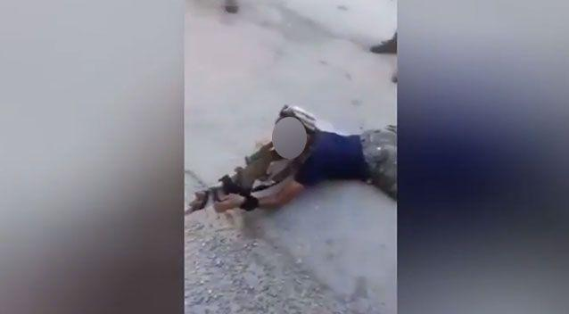 The young boy looks like he has been professionally trained for combat. Photo: YouTube
