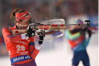 <p><strong>Age: </strong>30</p><p><strong>Hometown:</strong> Cape Elizabeth, ME</p><p><strong>Event:</strong> Biathlon</p><p>Biathletes aren't just masters of whizzing through lung-burning cross-country trails — they have the added challenge of switching gears on a dime to precisely aim and shoot at distant targets. To prepare for the multi-faceted competitions, Clare Egan trains twice per day, six times per week, taking on low-intensity, long-distance runs as well as high-intensity workouts and weightlifting — not to mention shooting practice.</p>