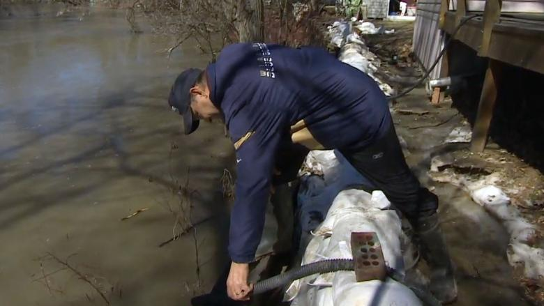 Carman faces frustrating waves of floodwater due to ice jams