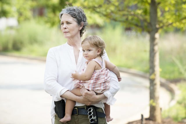 Melissa McBride as Carol Peletier in 'The Walking Dead' (Photo: Gene Page/AMC)