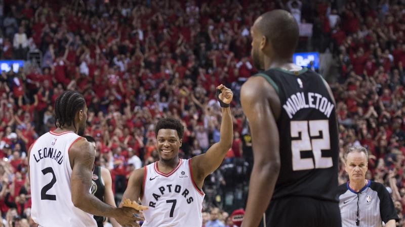 Toronto Raptors reach NBA Finals for first time