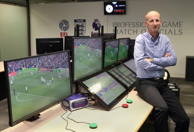 Referees' chief Mike Riley admits VAR improvements are needed (Christopher Lee/PA images)