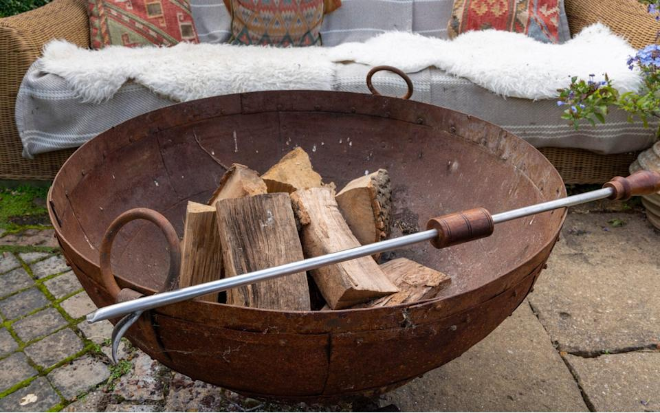 Keep everyone happy with the Kadai fire bowl, perfect for mid-season gatherings - Andrew Crowley