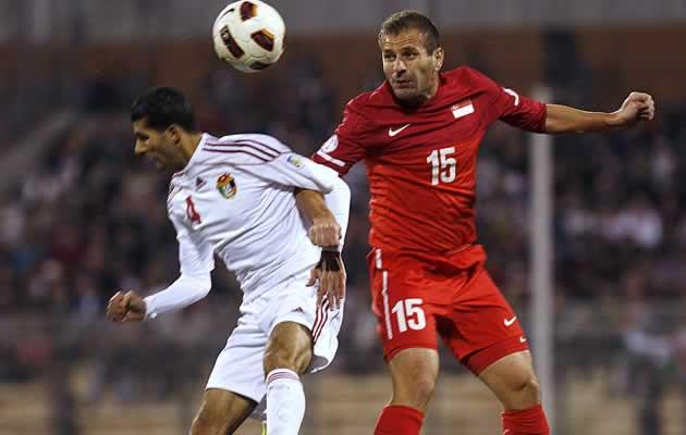 Singapore in action against Jordan in the World Cup third round qualifer last year (Getty Images)