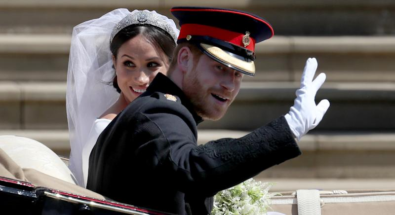 the Duke and Duchess of Sussex wedding day