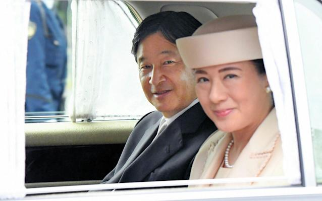 Emperor Naruhito and Empress Masako will be formally crowned on Tuesday in a centuries-old ritual - The Asahi Shimbun