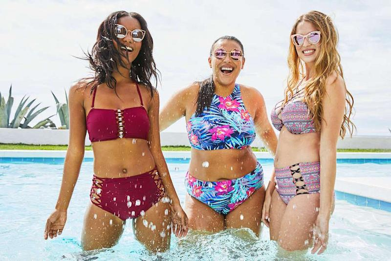 Target's unretouched swim campaign celebrates the beauty of stretch marks