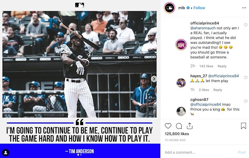 Tim Anderson Was Suspended for Alleged Racially Charged Language in Royals Dustup