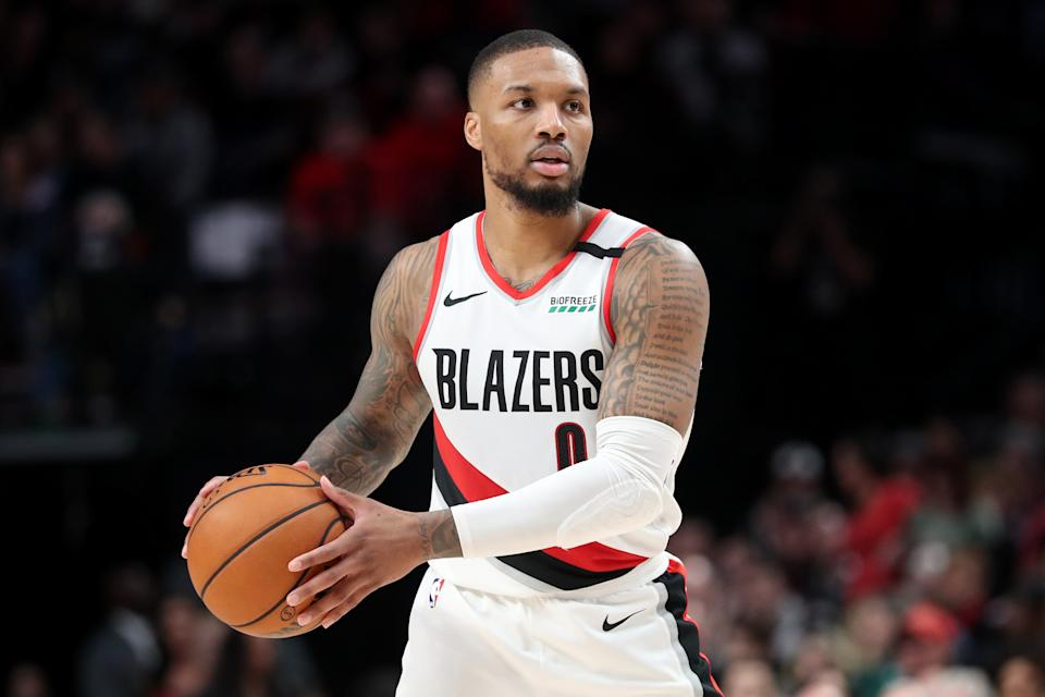 Damian Lillard nearly sent the game into overtime, however was blocked at the rim in a controversial no-call.