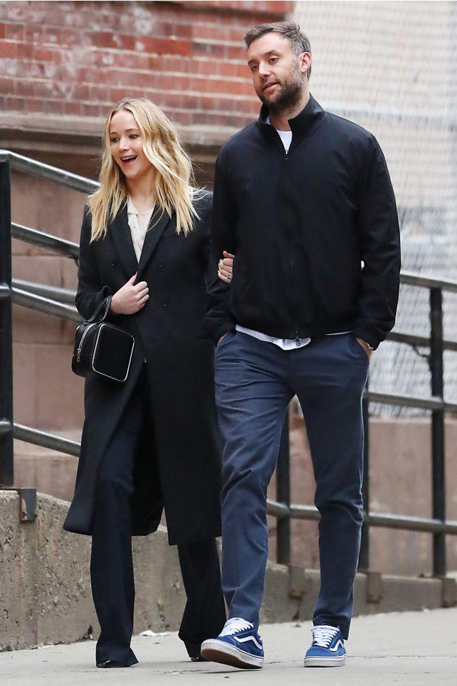 The couple out in New York City on March 25. | The Image Direct