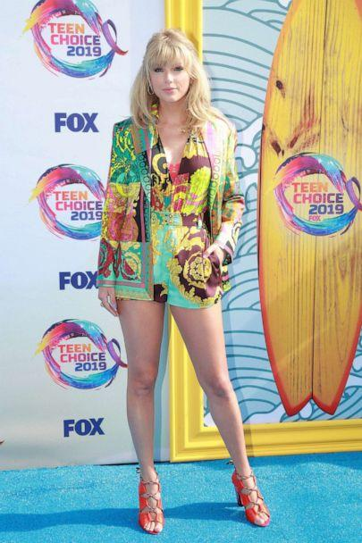 PHOTO: Taylor Swift attends FOX's Teen Choice Awards 2019 on August 11, 2019, in Hermosa Beach, California. (Rich Fury/Getty Images)