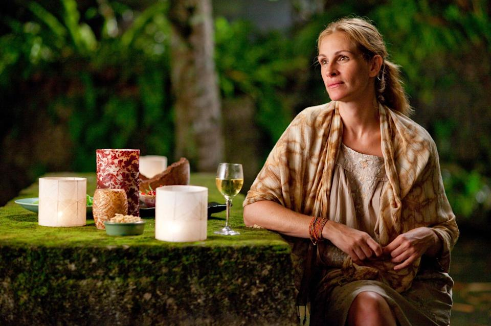 """Julia Roberts in """"Eat Pray Love."""" (Photo: Columbia Pictures)"""