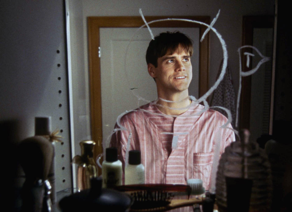 """A scene from the Paramount Movie """"The Truman Show"""" starring Jim Carrey. (AP Photo/Paramount Pictures/Melinda Sue Gordon)"""