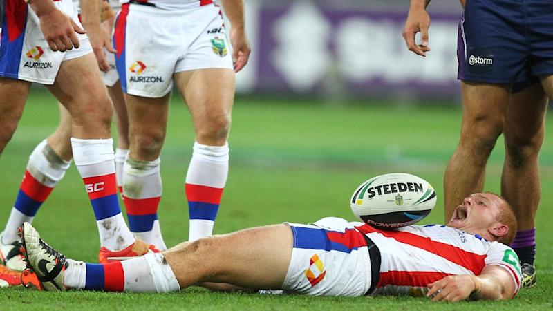 Alex McKinnon plans to sue the NRL over the on-field tackle that's left him in a wheelchair.