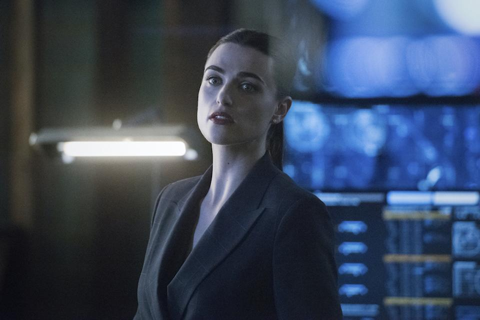 Lena Luthor (Katie McGrath) in Supergirl. (Warner TV)