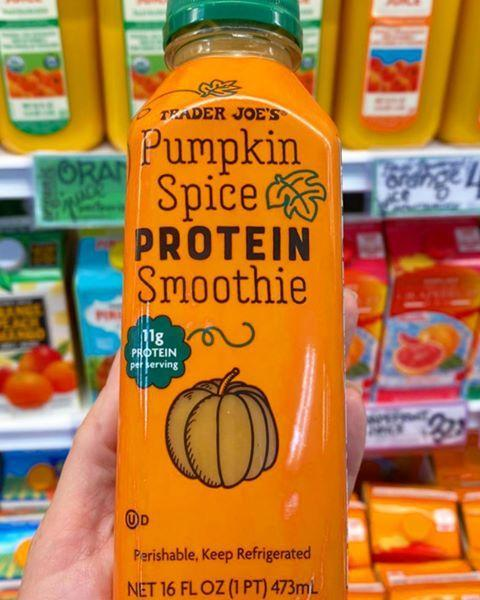 """<p>Who say's seasonal food can't be healthy? You can get 11 grams of protein while feeling festive as hell. </p><p><a href=""""https://www.instagram.com/p/CE11uuspDTP"""" rel=""""nofollow noopener"""" target=""""_blank"""" data-ylk=""""slk:See the original post on Instagram"""" class=""""link rapid-noclick-resp"""">See the original post on Instagram</a></p>"""