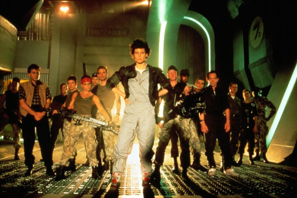"""<p>It's rare for a sequel to be as good as—if not better—than the original, but <em>Aliens</em> achieves it. Sigourney Weaver returns as Ellen Ripley, back with a crew of badass, highly trained marines to kill the aliens who have taken over a space colony.</p> <p><em>Available to rent on</em> <a href=""""https://www.amazon.com/Aliens-Special-Sigourney-Weaver/dp/B00A0ZMBAW/"""" rel=""""nofollow noopener"""" target=""""_blank"""" data-ylk=""""slk:Amazon Prime Video"""" class=""""link rapid-noclick-resp""""><em>Amazon Prime Video</em></a>.</p>"""