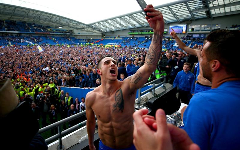 Anthony Knockaert savours the moment - Getty Images Europe