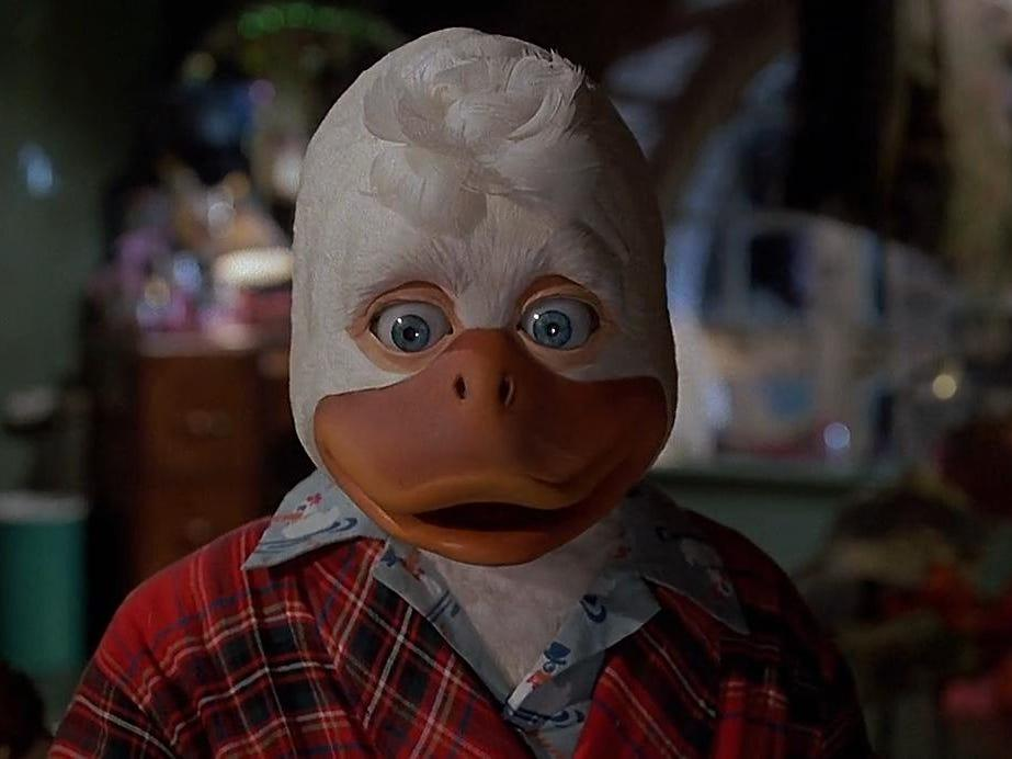 """Howard the Duck"" was the first Marvel movie."