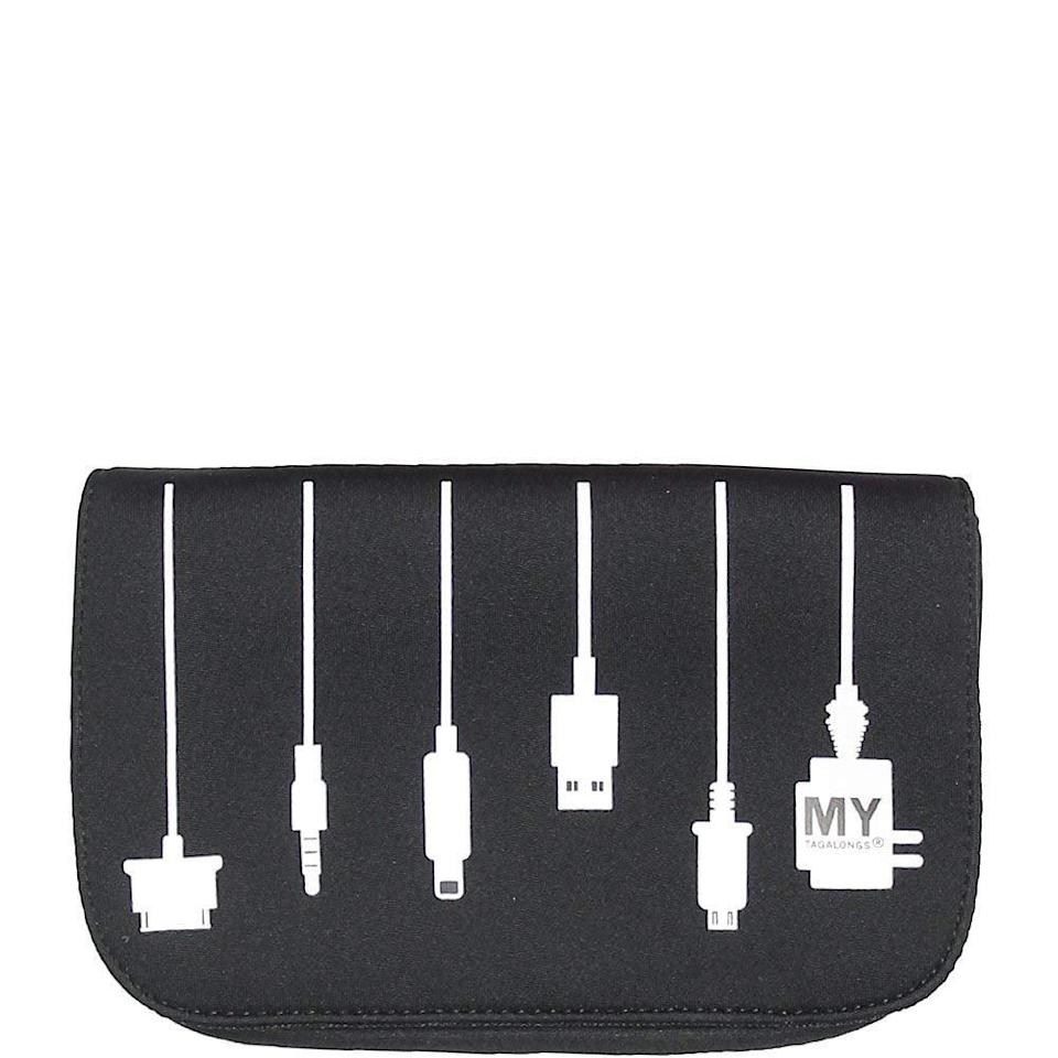 """<p>Get this <a href=""""https://www.popsugar.com/buy/Mytagalongs-Charger-Case-376790?p_name=Mytagalongs%20Charger%20Case&retailer=amazon.com&pid=376790&price=16&evar1=savvy%3Aus&evar9=45684857&evar98=https%3A%2F%2Fwww.popsugar.com%2Ffood%2Fphoto-gallery%2F45684857%2Fimage%2F46825603%2FMytagalongs-Charger-Case&list1=shopping%2Cgifts%2Cgift%20guide%2Cgifts%20for%20men%2Cbest%20of%202019&prop13=api&pdata=1"""" class=""""link rapid-noclick-resp"""" rel=""""nofollow noopener"""" target=""""_blank"""" data-ylk=""""slk:Mytagalongs Charger Case"""">Mytagalongs Charger Case</a> ($16) for the person who's always tied up in cables, so they can stay organized. </p>"""