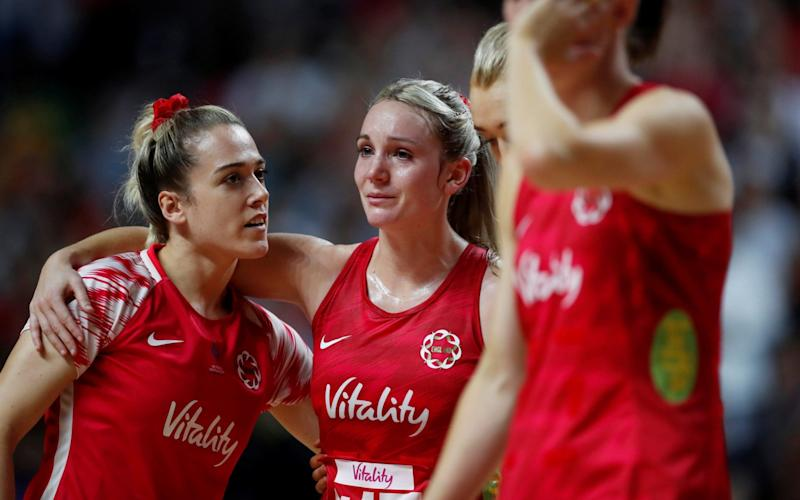 England lost out on a place in the final by losing to New Zealand, but they took the bronze medal - REUTERS