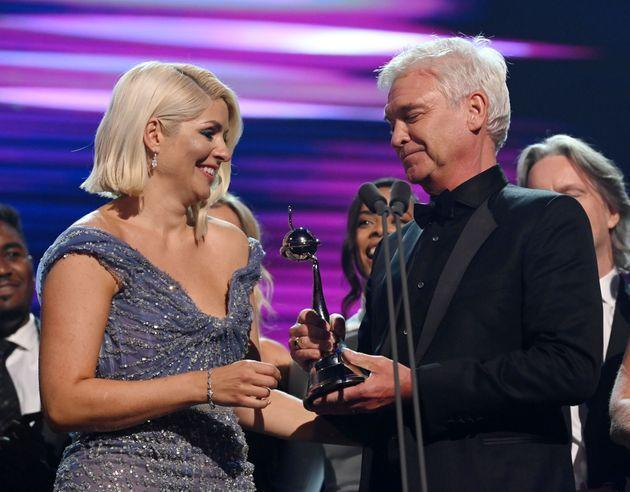 Holly Willoughby and Phillip Schofield (Photo: David Fisher/Shutterstock)