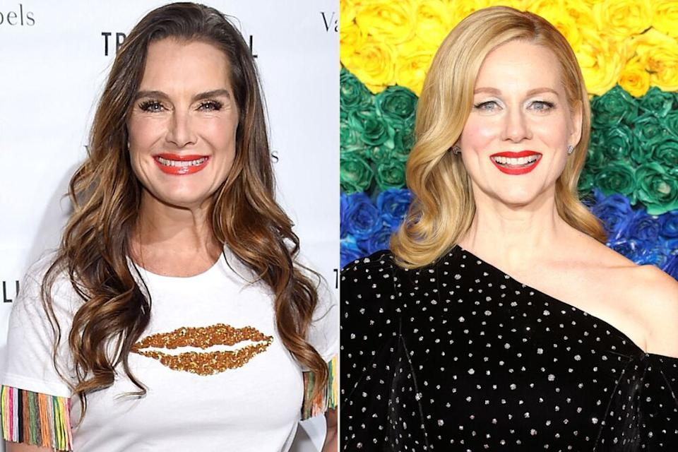 Brooke Shields (left); Laura Linney (right) | Taylor Hill/FilmMagic; Jamie McCarthy/Getty Images