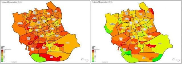 Newham poverty from 2010 to 2015 (Newham)