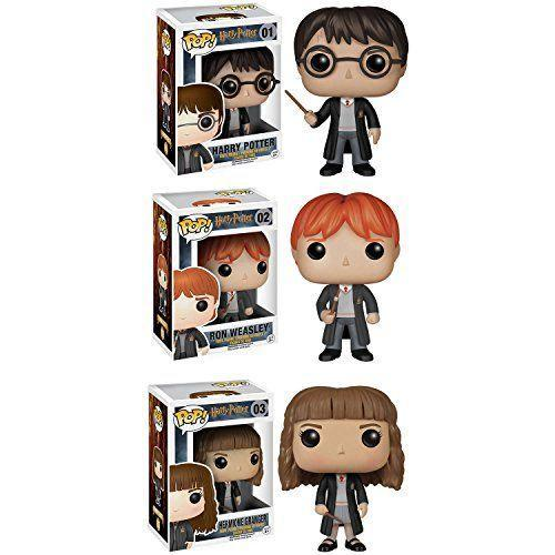 """<p><strong>Funko</strong></p><p>amazon.com</p><p><strong>$27.15</strong></p><p><a href=""""http://www.amazon.com/dp/B014LQSGWM/?tag=syn-yahoo-20&ascsubtag=%5Bartid%7C10055.g.23595566%5Bsrc%7Cyahoo-us"""" rel=""""nofollow noopener"""" target=""""_blank"""" data-ylk=""""slk:Shop Now"""" class=""""link rapid-noclick-resp"""">Shop Now</a></p><p>These action figures will look great on their bookshelf next to the Harry Potter series. This particular set comes with Harry, Ron, and Hermione, but you can even get the <a href=""""https://www.amazon.com/dp/B07PT1B34Z/?tag=syn-yahoo-20&ascsubtag=%5Bartid%7C10055.g.23595566%5Bsrc%7Cyahoo-us"""" rel=""""nofollow noopener"""" target=""""_blank"""" data-ylk=""""slk:advent calendar version"""" class=""""link rapid-noclick-resp"""">advent calendar version</a> for even more figures. If you know multiple Harry Potter fans, you could even give these out as separate gifts since they come individually packaged. </p>"""