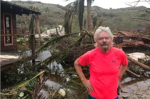 Richard Branson on Necker Island - Credit: Virgin.com/Virgin.com