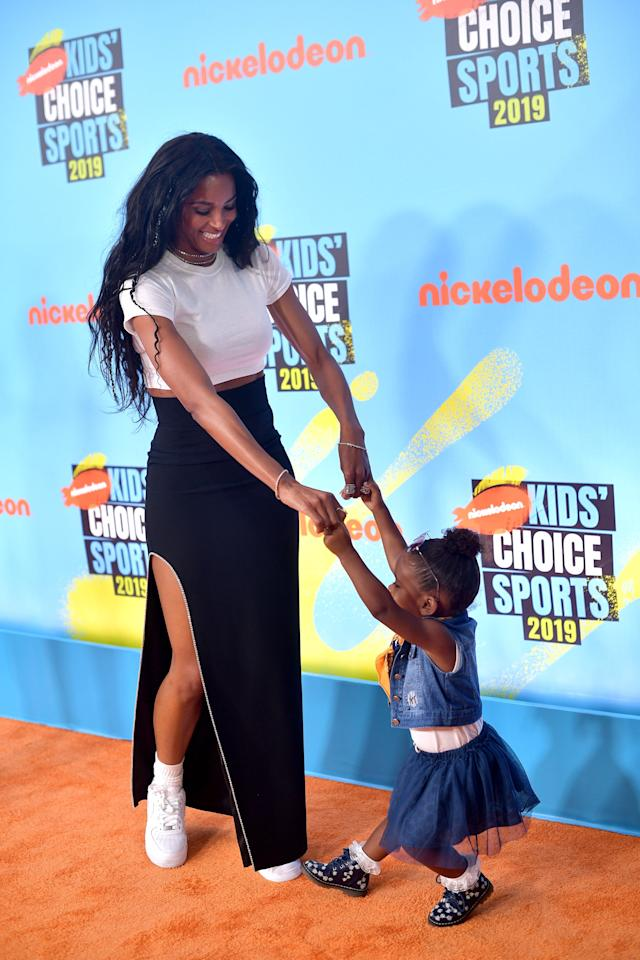 Um, How Adorable Are Ciara and Her Family at the Kids' Choice Sports Awards?