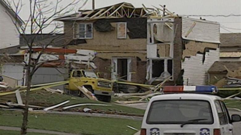 Here's how many tornadoes hit Eastern Canada in 30 years