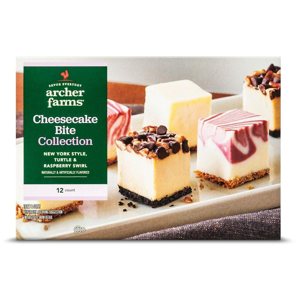 <p>Archer Farms offers these flavors in slices, but why would you pass up the adorable, bite-size squares — and reviewers on the site agree.</p>