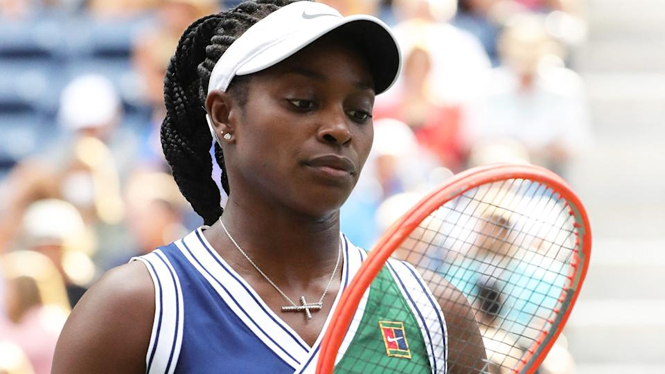 Sloane Stephens revealed the horrific extent of the social media abuse she copped after her third round loss at the US Open.