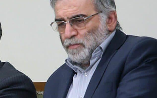 File image of Mohsen Fakhrizadeh - Friends of Israel Initiative