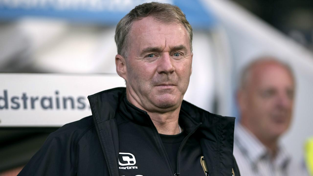 John Sheridan was handed a five-match ban for an X-rated outburst at the match officials during Notts County's 2-0 defeat to Wycombe Wanderers