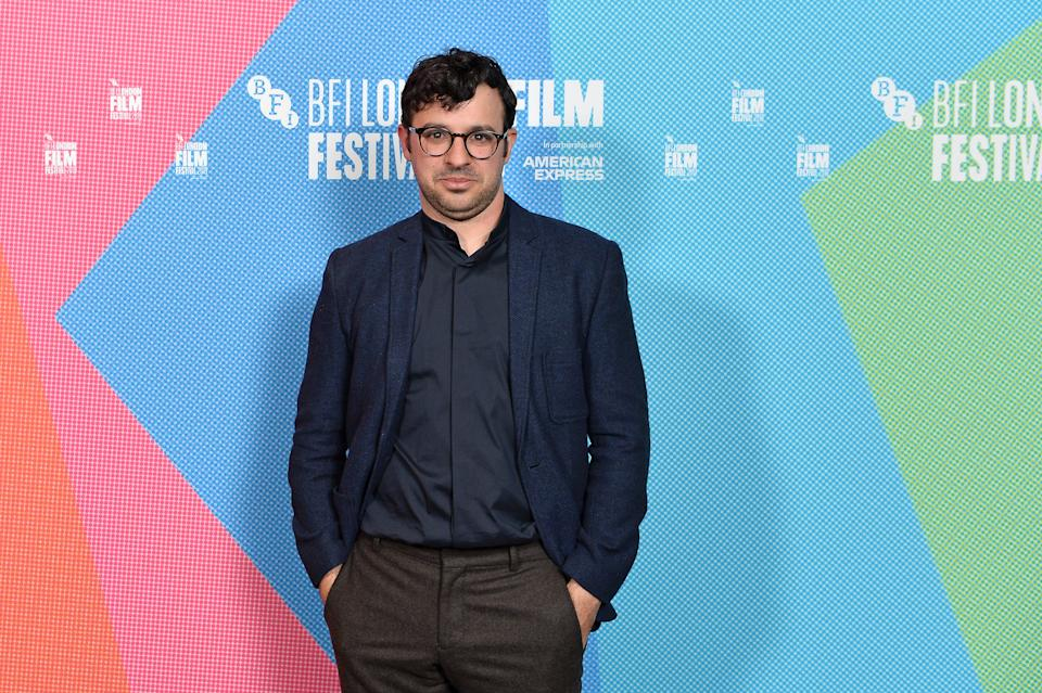 """LONDON, ENGLAND - OCTOBER 05: Director Simon Bird attends the """"Days of the Bagnold Summer"""" UK Premiere during 63rd BFI London Film Festival at BFI Southbank on October 05, 2019 in London, England. (Photo by Jeff Spicer/Getty Images for BFI)"""