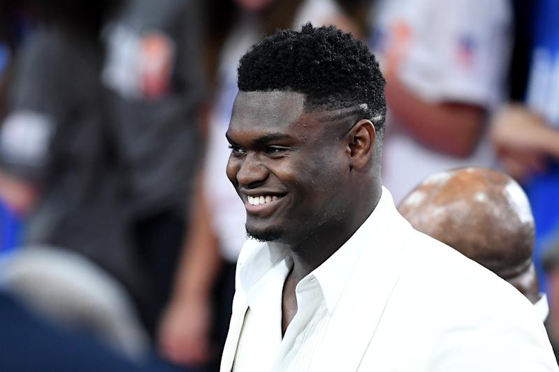 The Pelicans aren't having any part of another franchise — even from the NFL — vying for the attention of Zion Williamson. (Getty)