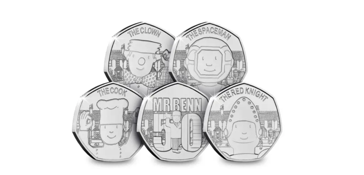 Mr Benn's 50th anniversary is being marked with special 50p coins. (Westminster Collection/PA)