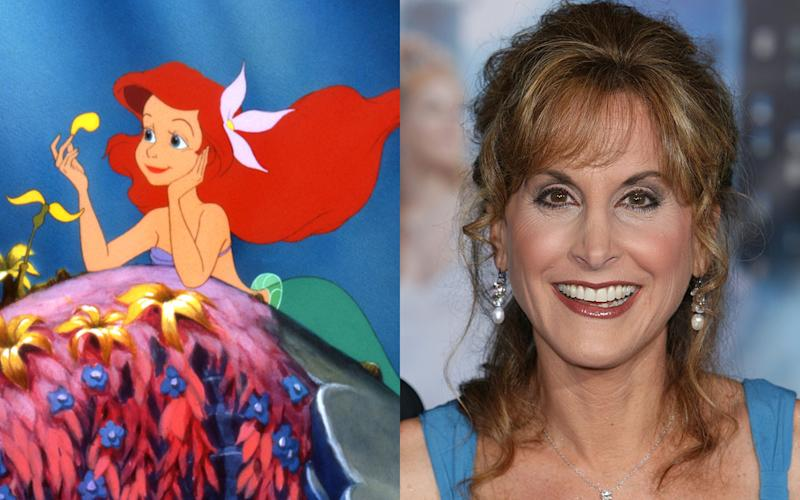 Jodi Benson – Ariel in 'The Little Mermaid' (1989) - Credit: Rex/PA