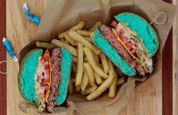 The Jaguars will be selling this teal cheeseburger during the playoffs. (Twitter/@WillBrinson)