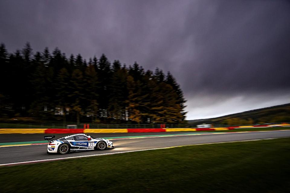 ASP Mercedes leads Spa 24 after six hours