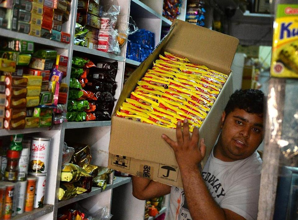 Nestle says it wants to get Maggi noodles back on Indian shelves as soon as possible (AFP Photo/Chandan Khanna)