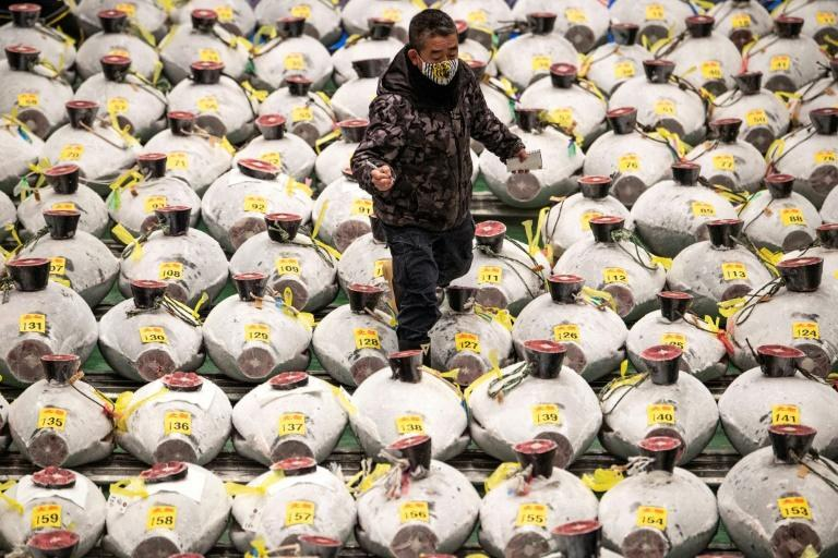 Japan's New Year tuna auction often results in eye-popping sums being bid for the top fish