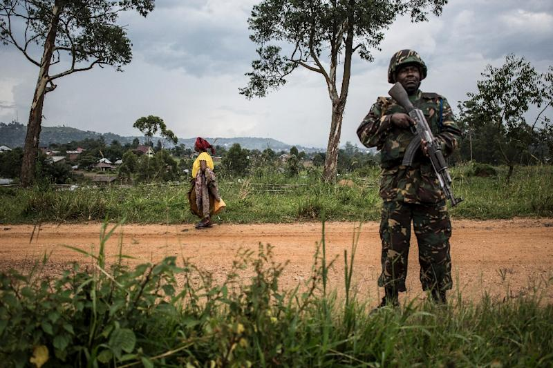 In the past month, 48 deaths in Beni have been attributed to the ADF, including seven UN peacekeepers (AFP Photo/John WESSELS)