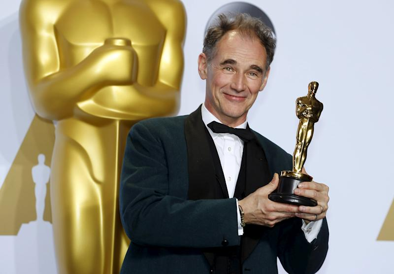 Mark Rylance, winner of the Oscar for Best Supporting Actor for the movie