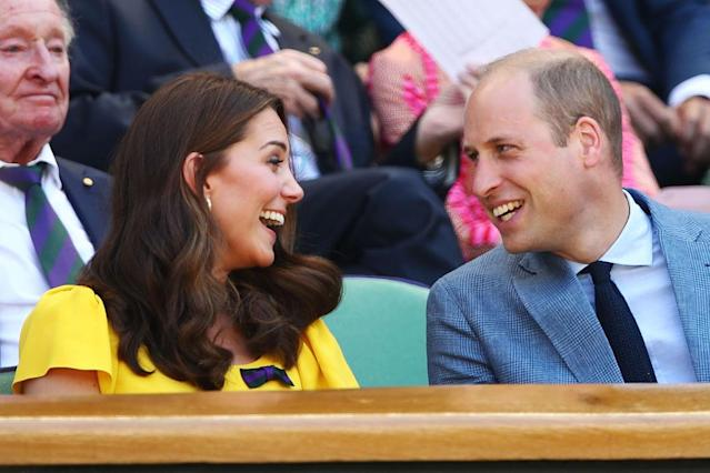Kate Middleton and Prince William. (Photo: Getty Images)